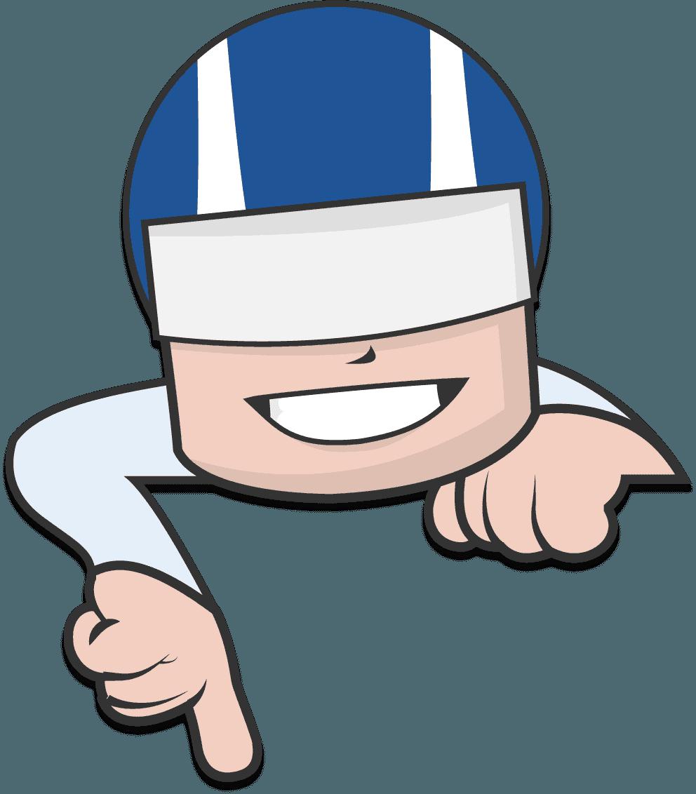 expressman-pointdown